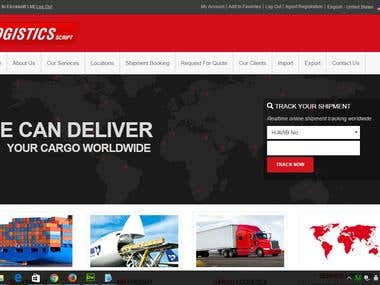 Logistics Script By ZendCMS