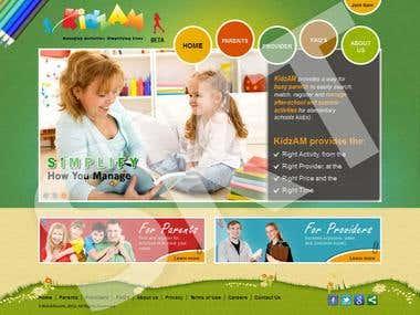 Kids Website