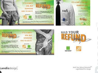 Build Your Refund (Home Depot/H&R Block)