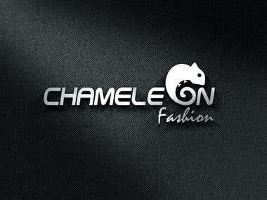 Chameleon Fashion Logo Design