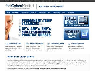 Coben Medical Limited Website