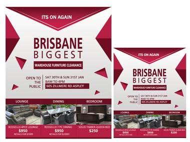 Brochure design / flyer design / poster design