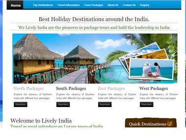 Tours and Travel Portal with Content Management System
