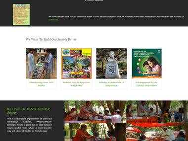 Responsive Website Development for NGO