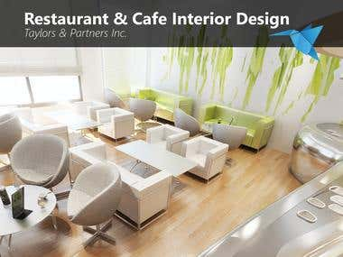 Resturant & Cafe Interior Designs