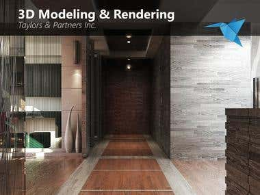 3D Modeling & Realistic Rendering
