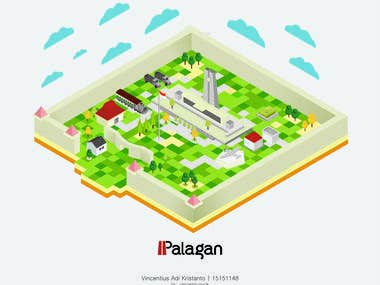Palagan Illustration