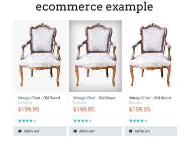 Removing background service for web stores (ecommerce)