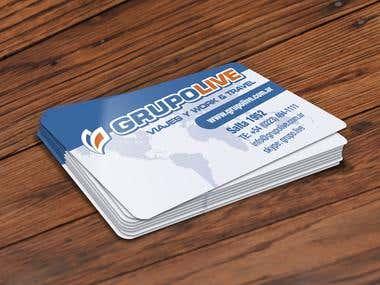 Grupolive - Business Cards
