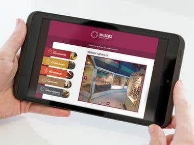 Interactive App Design - Museos Mar del Plata