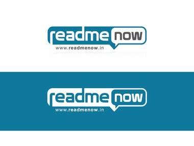 Readme Now - Website Logo