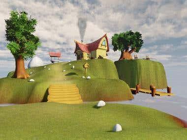 Little Island Environment