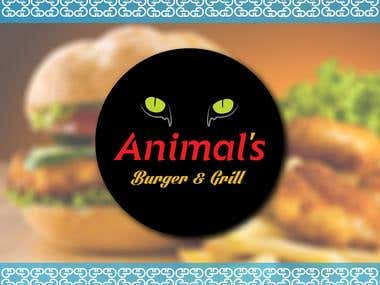 Logo Animal's Burger and Grill