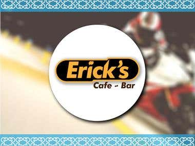 Logo Erik's Cafe-Bar