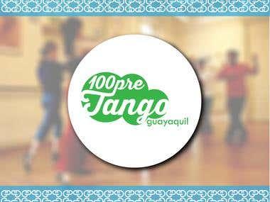 Logo para 100pre Tango