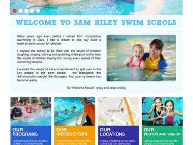Sam Riley Swimming School - Olympic Swimmer