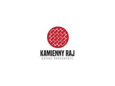 """Logo dla firmy """"Kamienny Raj"""""""