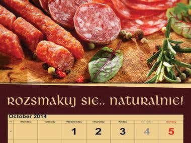 """Kalendarz dla """"Lech Garmażeria Staropolska"""""""