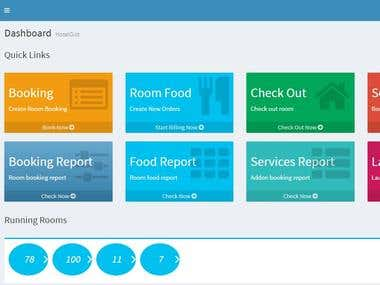 Asp.Net based Hotel Management System