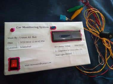 CAR Monitoring System