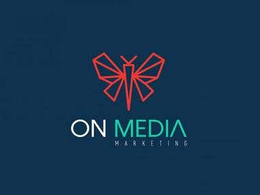 ON MEDIA Marketing LOGO