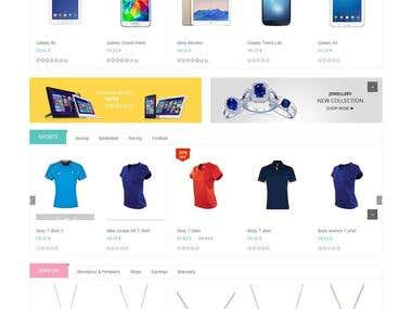 An eCommerce Store for a client