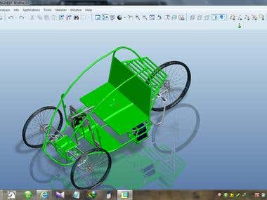Effi-Cycle Designing And 3D Modeling