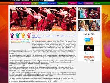 Website : International Ethnic  Folklore Festival. India