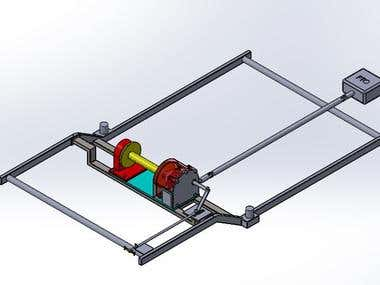4x4 mechanical Winch