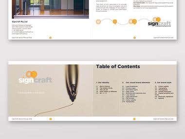 Brand Guide Booklet