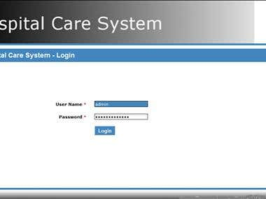 Hospital Care System - Hospital Management System