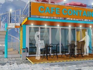 Торговый павильон - Кафе.