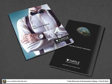 Menswear & Accessories Catalog