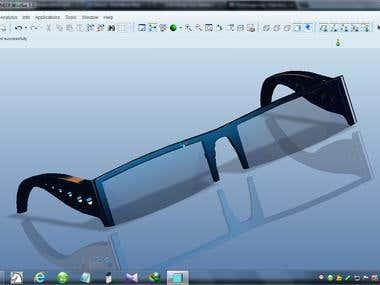 3D Modeling Of Glass