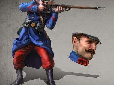 French infantryman