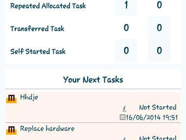 MarkTeQ Work Management System (WMS) - Android