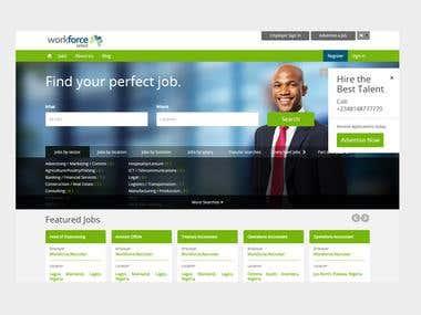 Job Portal For HR Consultancy– Nigeria
