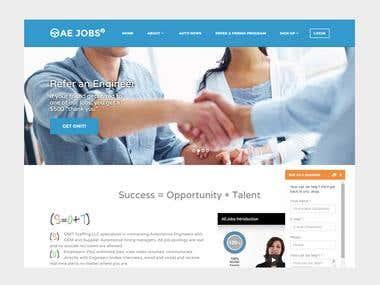 Job Portal for Auto Engineers - USA