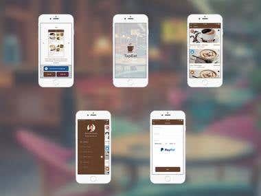 Tapeat - Coffee Ordering App