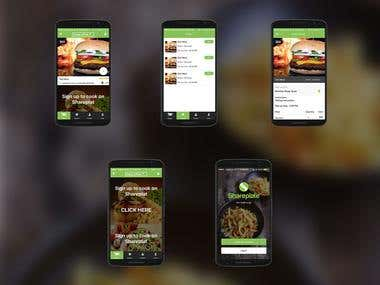 Shareplate - Share your meal with other users
