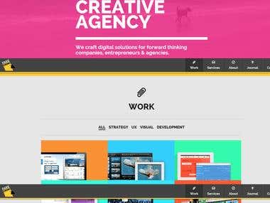 WordPress: Digital Creative Agency