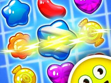 "Android Game Icon ""Jelly Jam Bay"""