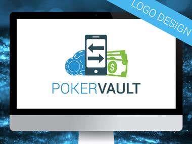 PokerVault Logo