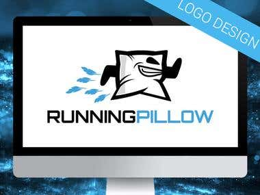 Running Pillow logo