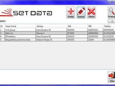 WPF Application