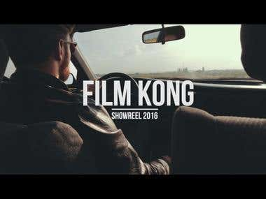 Film Kong showreel 2016