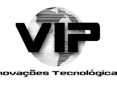 Logomarca empresa VIP INOVAÇÕES