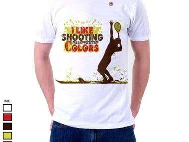 Shooting Colors T-shirt