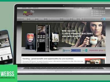 Ecommerce Coffi website
