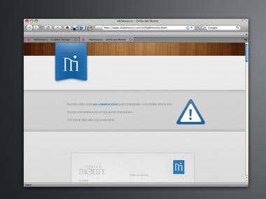 Orilla del Monte - Web Design